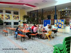 Notunterkunft in der Poppenrichter Schule