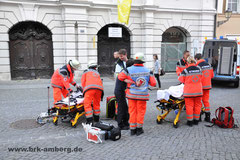 Erstversorgung durch den Rettungsdienst