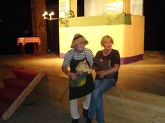 """Ruth Zauner & Ferdinand Resch, Puppenbühne """"BÜHNE ferdinand RESCH""""  im Zeughaus, 2012, Lindau"""