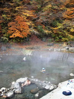 尻焼川原の大露天風呂