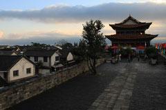 Stadtmauer von Dali - letzte Sation vor Kunming.