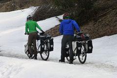 Hoppla: Schnee im Prättigau!