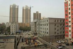 Chinesische Monopoly-Stadt.