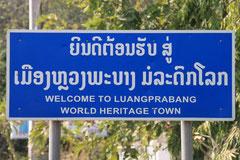 Ankunft in Luang Prabang.