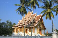 Wunderschöner Tempel in Luang Prabang.