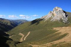 Tolle Aussicht und Downhill-Vorfreude.