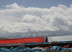 Böse Gewitterwolken im Anmarsch.