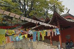 Chinesisch angehauchtes Kloster.