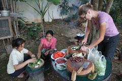 Laotisch kochen - speziell und spassig.