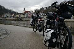 Passau: Wo Inn und Donau zusammentreffen.