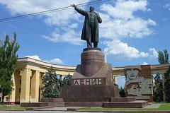 Im Land von Marx, Lenin (s. oben) & Stalin.