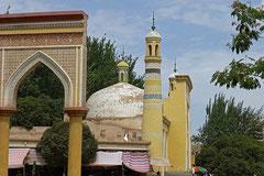 Wahrzeichen von Kashgar: Id-Kah Moschee.