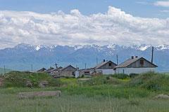 Kurz vor der kirgisischen Grenze.