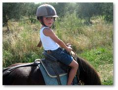 Sur mon poney