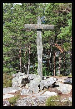 Steinkreuz in Hesthamar