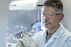 Centres d'applications d'un laboratoire d'analyses particulaires