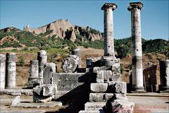 Sardes, Ruinen