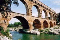 Pont du Gard, römischer Aquädukt