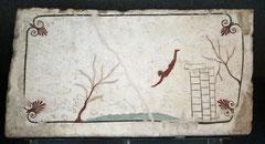 Paestum, Grab des Tauchers (Foto H.-J. Lücking)