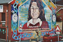 Belfast, Falls Road, Republican Mural