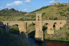Alcántara, Römische Brücke