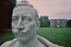 Wilhelm II. vor Haus Doorn