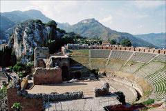 Taormina, griechisch-römisches Theater