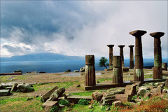 Assos, Athena-Tempel, und Lesbos