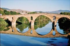 Puenta la Reina, Pilgerbrücke über den Rio Arga