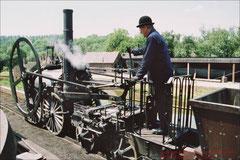 'The Rocket' - die Lokomotive Georg Stevensons