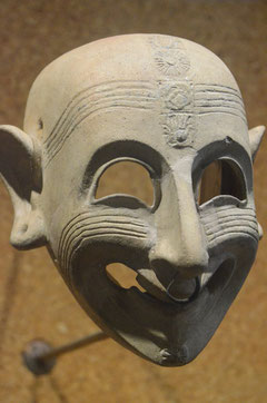 Phönizische Maske (Museo Archeologico)