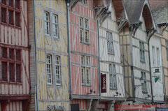 Fachwerkhäuser am Markt von Troyes