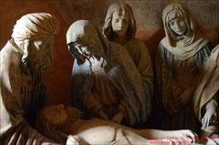 Meister von Chaource, Grablegung