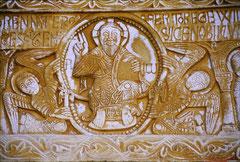 S. Génis - ältestes datiertes Relief der Romanik
