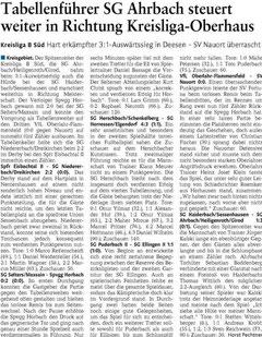 Quelle: Westerwälder Zeitung vom 26.03.12