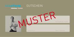 felixeffects Personal Trainer - Geschenk-Gutschein