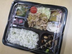 お弁当一例 参考価格700円(味噌汁付き)