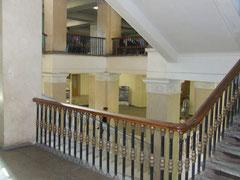 Лестница в центр. корпусе МЭИ