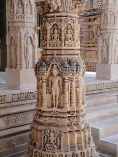 Die Säule wurde vor 1000 Jahren angefertigt