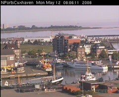 Nports Hafencam Hapag-Hallen