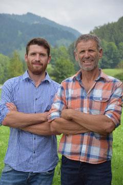 Junior- & Seniorchef der Spenglerei Thaler in Geitau