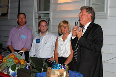 U.S. Rep. Pallone with the Mahr team.