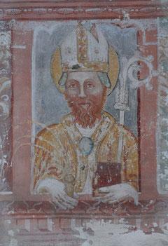 Convento dell'Annuncita, Capitolo decorazione parietale.