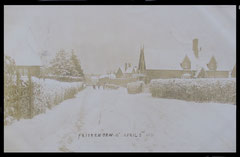 Frittenden with heavy snow, 5th April 1911.