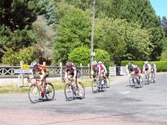 course cycliste - août 2010