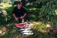 Kings Kasilof River Alaska