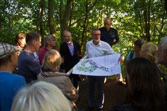 Vorstellung der Pläne zur Sanierung der Dreiwall- und Heubastion in den Rostocker Wallanlagen