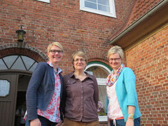 von links Silke Delfenthal, Barbara Witte, Silke Willenbockel
