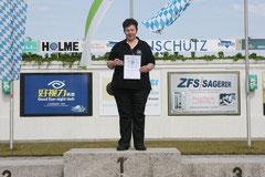 Bayerische Meisterin 2016 - Luftpistole Auflage Senioren C w