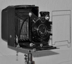 Die Plattenkamera AGFA 1926 meines Großvaters!